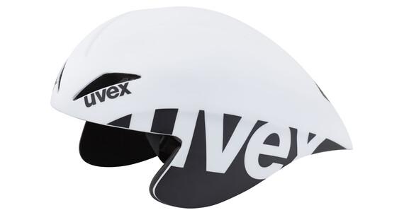UVEX race 2 pro kypärä , valkoinen/musta